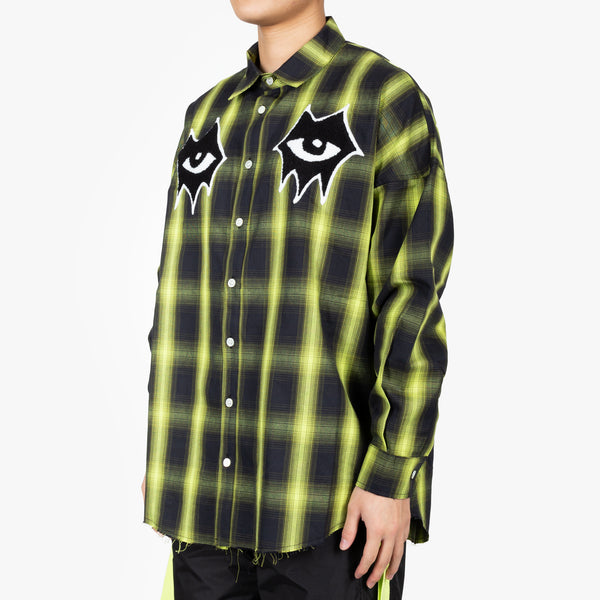 Signature Eyes Check Shirt