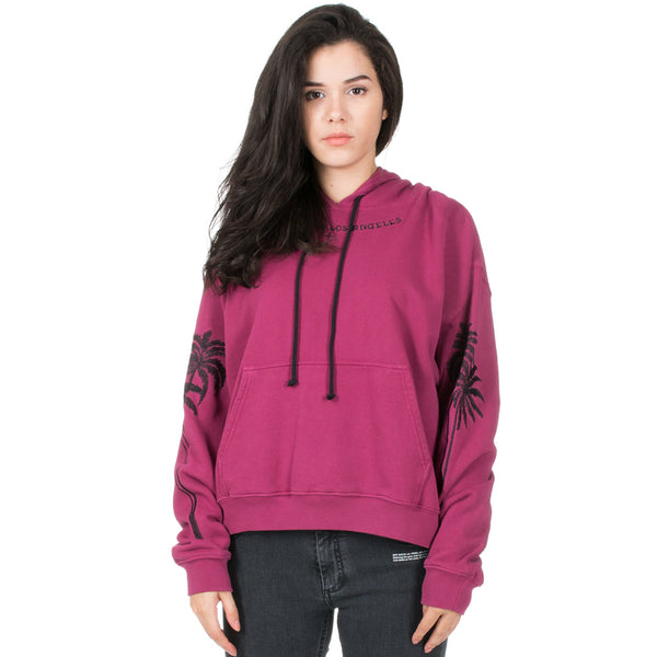 Palms Cropped Hoody