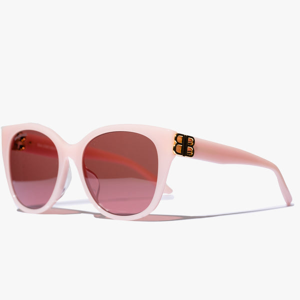 Ladies Pink Cat-Eye BB Sunglasses
