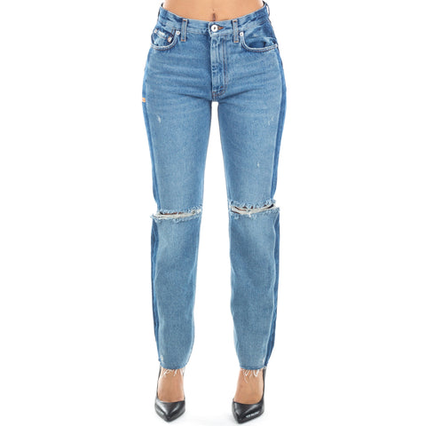 Style Two Tone Jeans