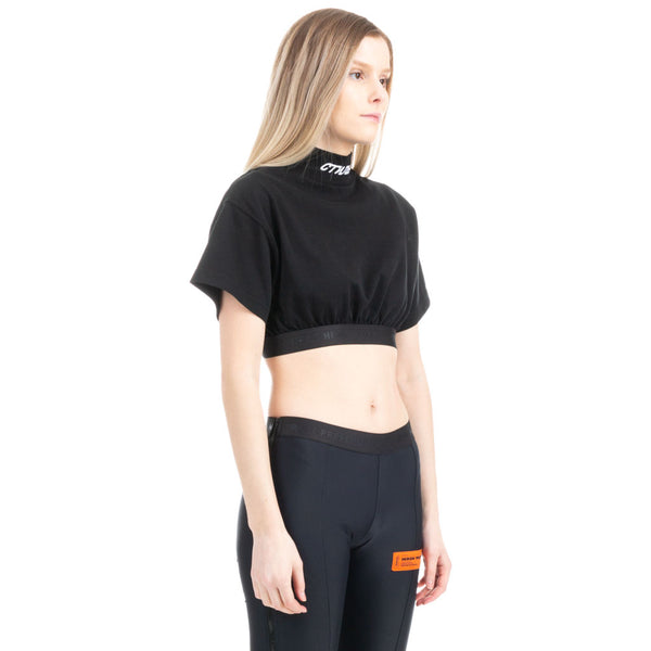 CTNMB Crop Turtleneck Tee