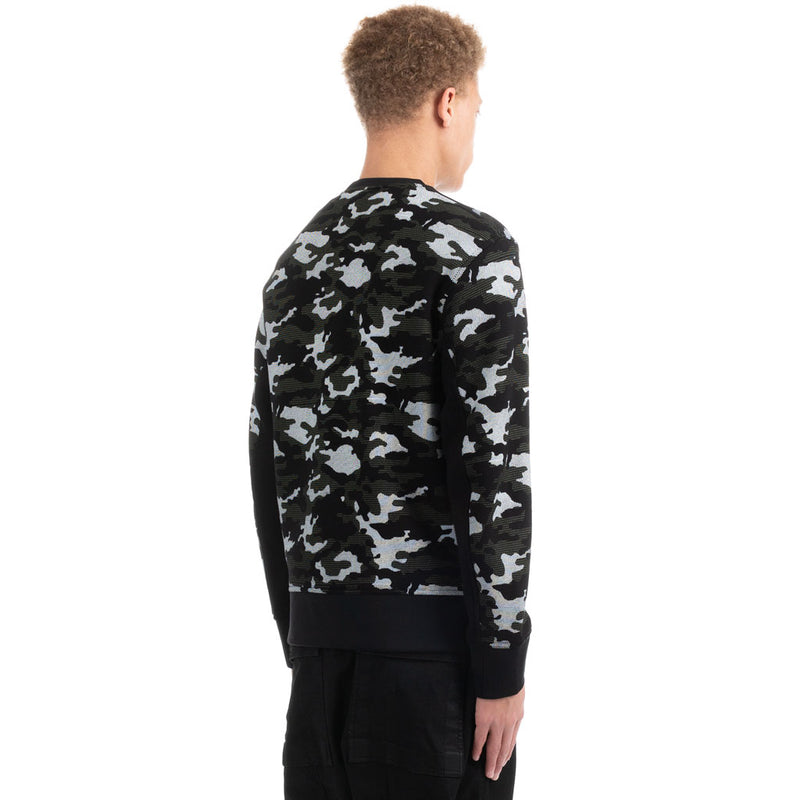 Pixel Camouflage Sweater