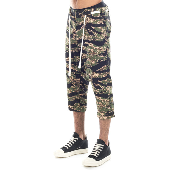 Cropped Tiger Camo Pants