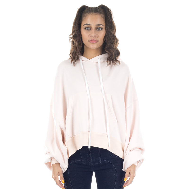 Terry Cropped Hoody