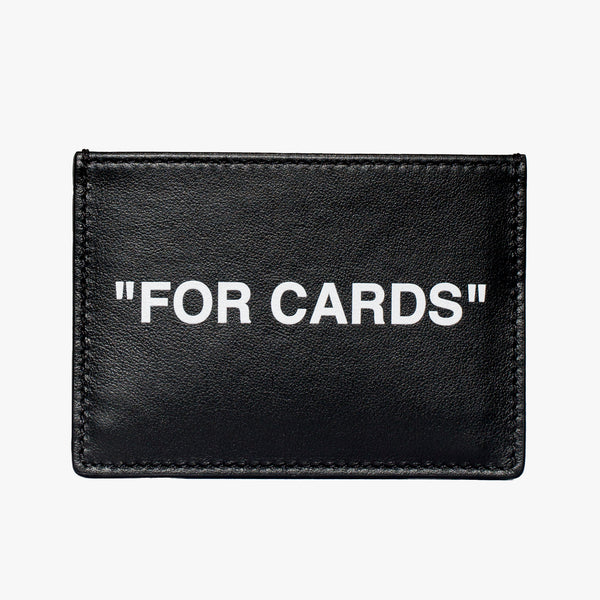Calf Skin Quote Cardholder