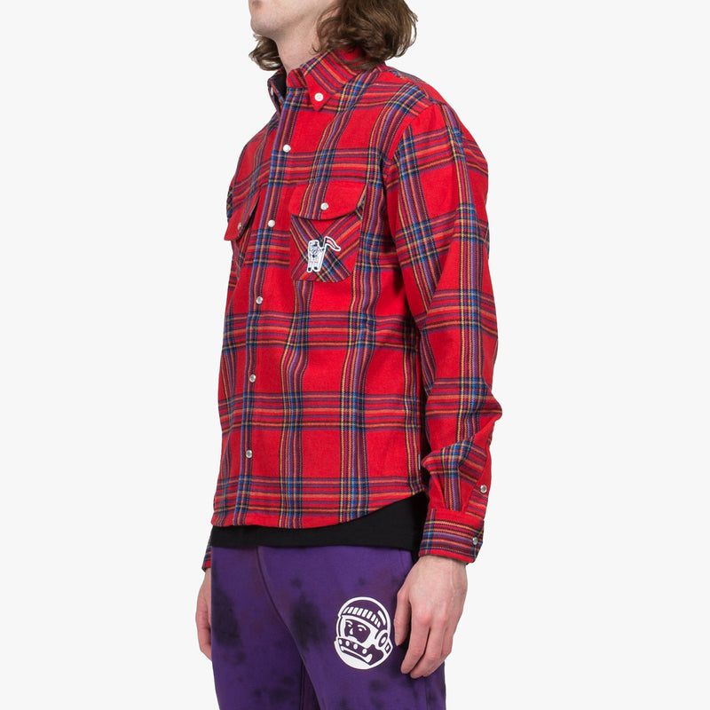 Astro Man Red Check Shirt