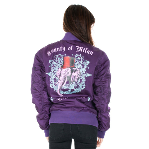 Elephant Bomber Jacket
