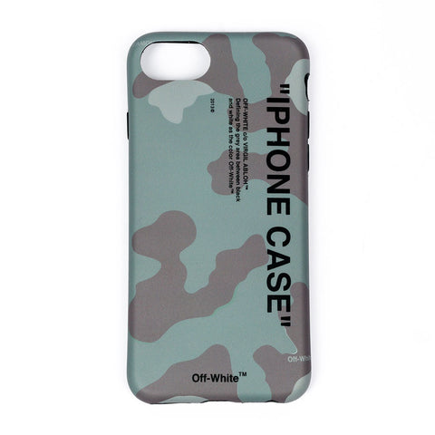 Quote Camouflage iPhone 8 Cover