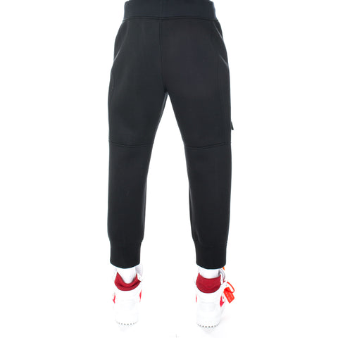 Elongated Zipper Sweatpants