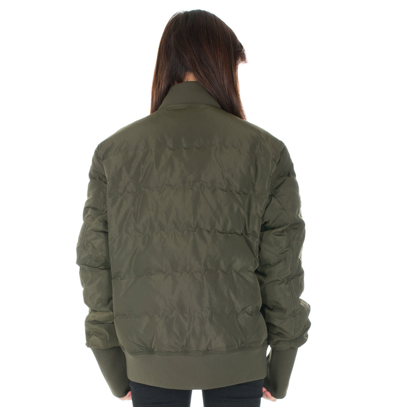 Quilted Down Bomber