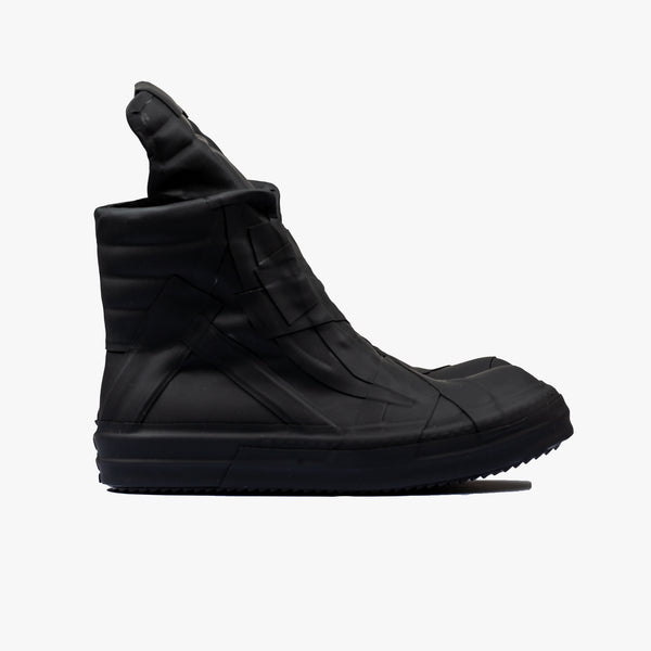 Rubberized Geobasket High-Top Sneakers