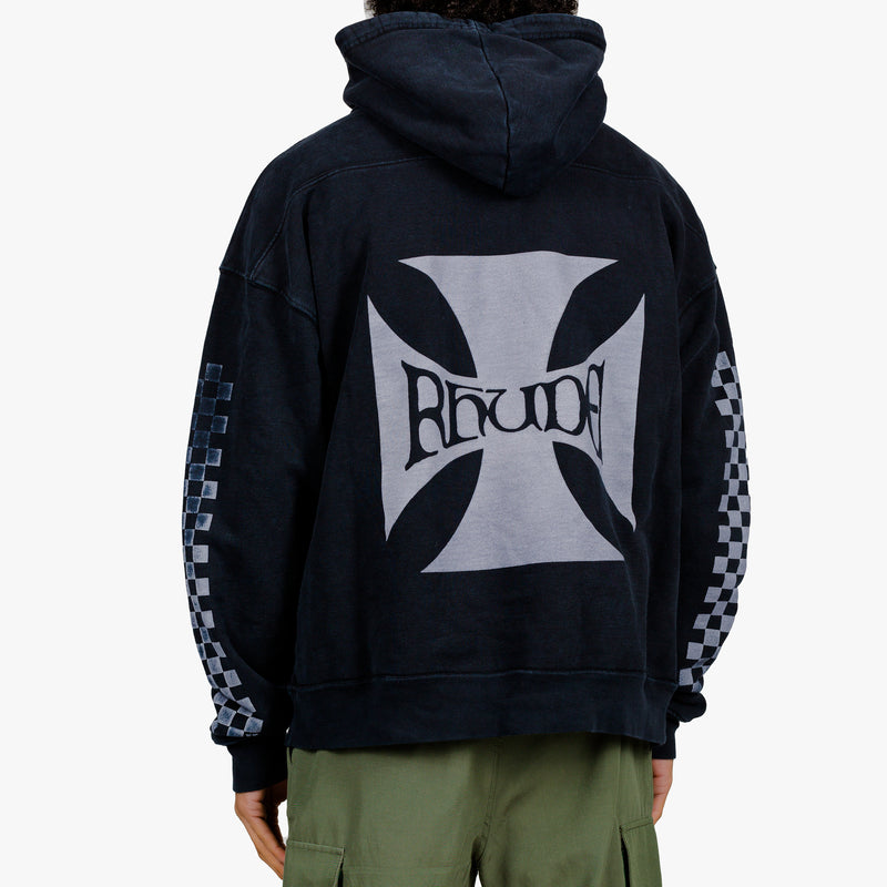Checker Cross Hoodie