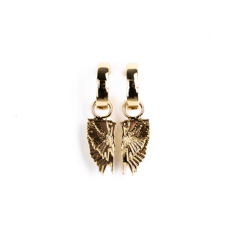 Wings Pendant Earrings
