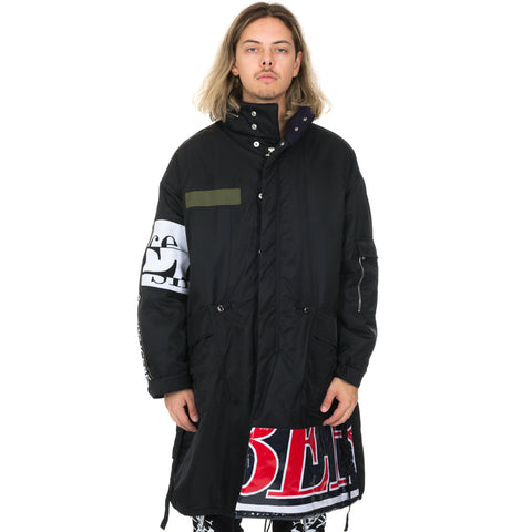 Iceberg Mickey Mouse Fishtail Parka