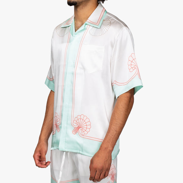 Les Coquillages Satin Shirt