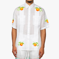 Les Oranges Embroidered Shirt