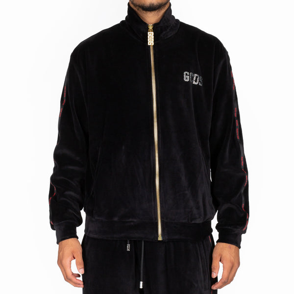 Velour Rich Track Jacket