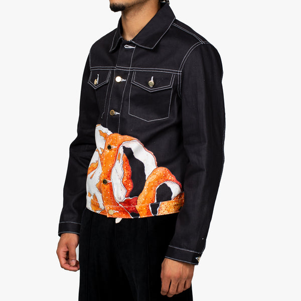 Orange Peel Denim Jacket