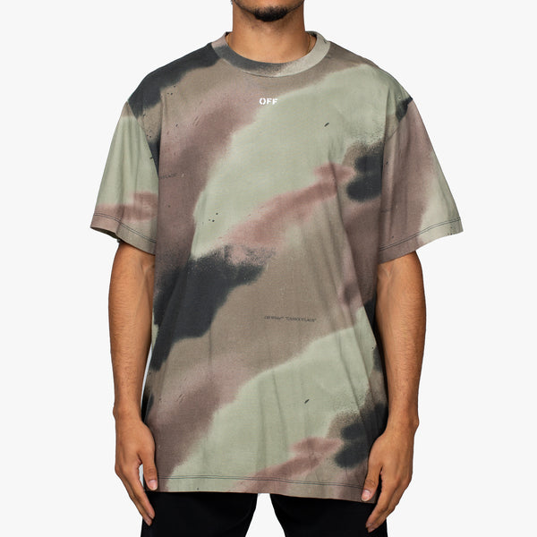 Camouflage Stencil Over Tee
