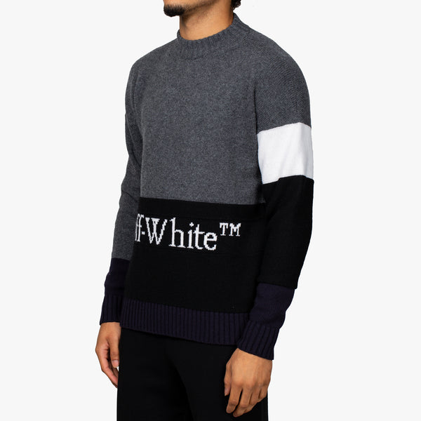 Colour Block OFF Sweatshirt