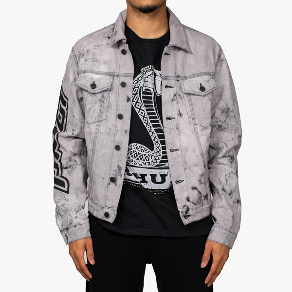 Pivot Tie Dye Denim Jacket
