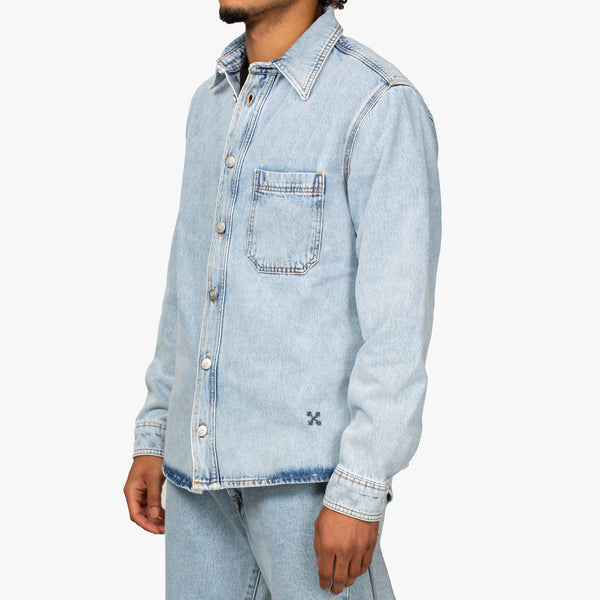 Stencil Denim Shirt