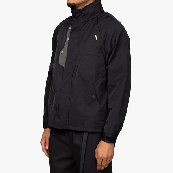 Panelled Convertible Track Jacket