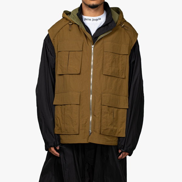 Layered Vest Raincoat