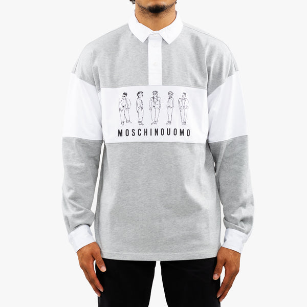 Moschino Uomo Rugby Sweater