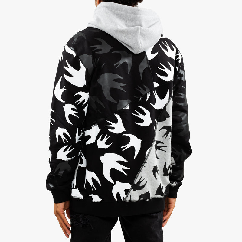 Swallow Cut Up Hoody