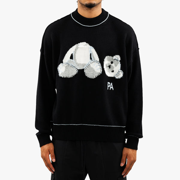 Palm Ice Bear Knit Sweater