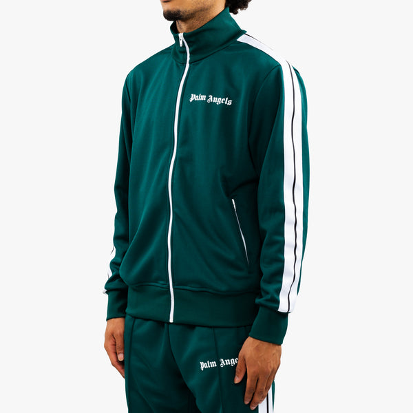 Classic Dark Green Track Jacket