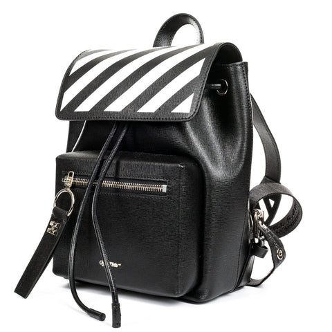 Diagonal Mini Backpack