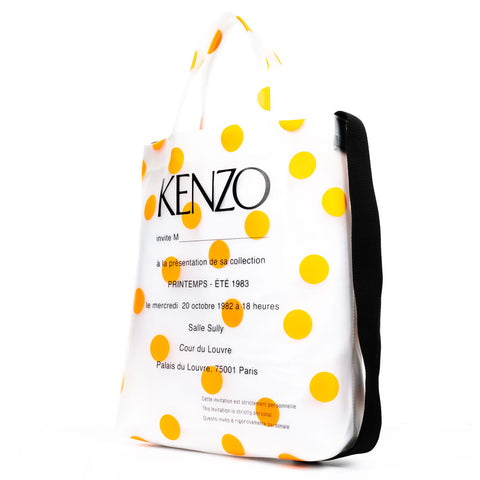 Polka Dot Poly Shopper