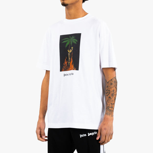 Burning Skeleton Pic Tee