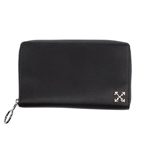 Nylon Arrow Zip Wallet