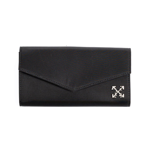Nylon Arrow Long Wallet