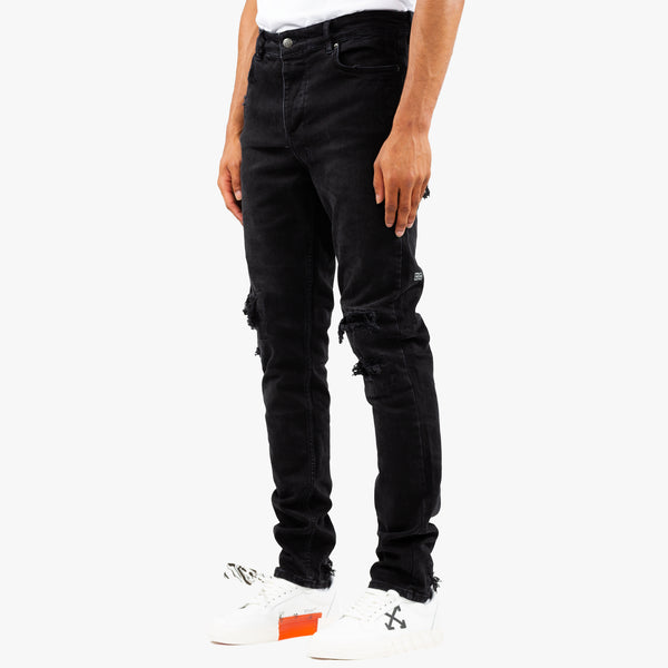 Chitch Krow Krushed Black Jeans