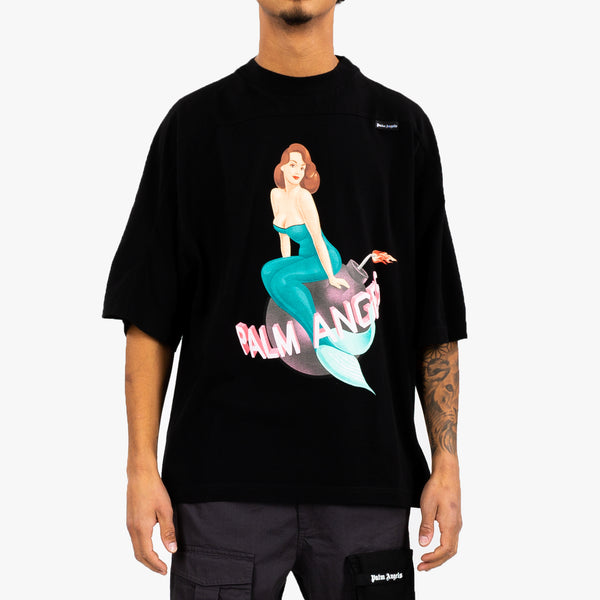 Mermaid Logo Over Tee