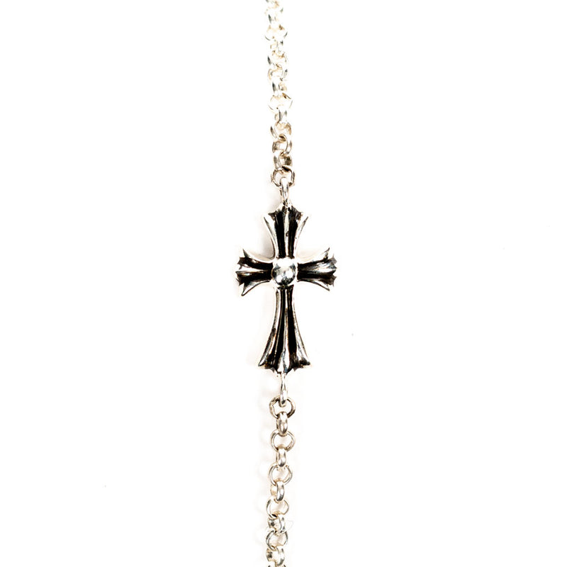 Tiny CH Cross Bracelet