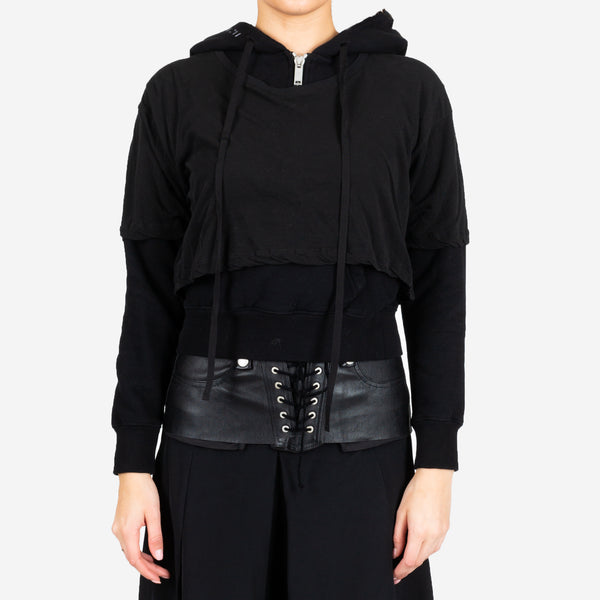 Introh Layered Hooded Tee