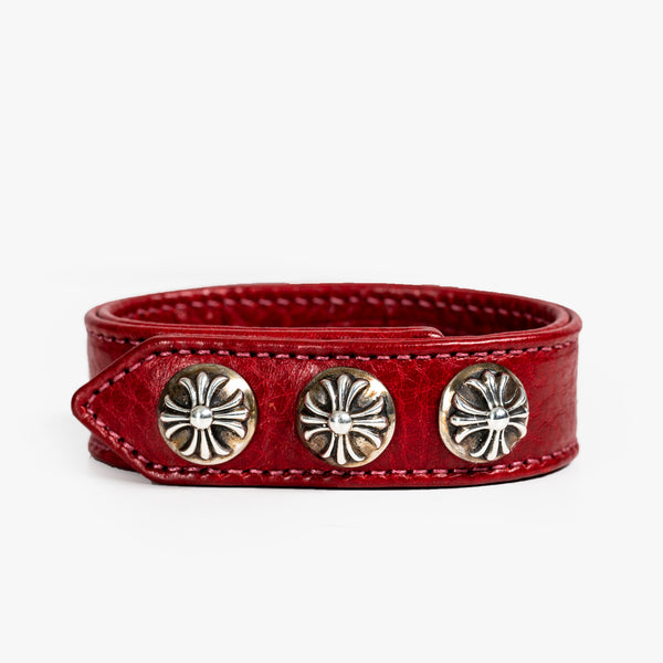 CH Plus Leather Bracelet