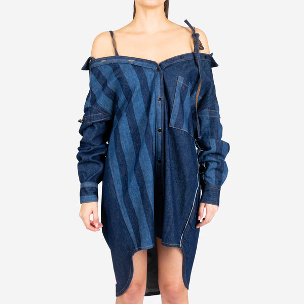 Rinse Wash Denim Dress