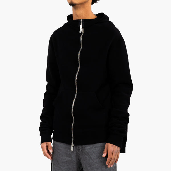 Hooded Sleeve Zip Hoody