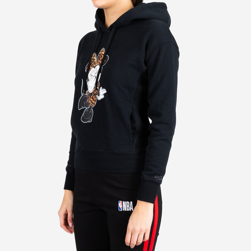 Minnie Mouse Leopard Hoody