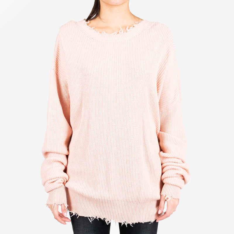 Ribbed Oversized Sweater