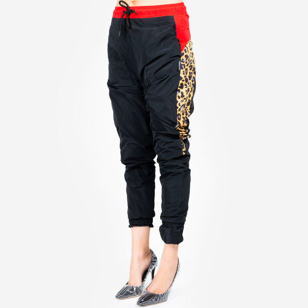 Ladies Leopard Block Pants