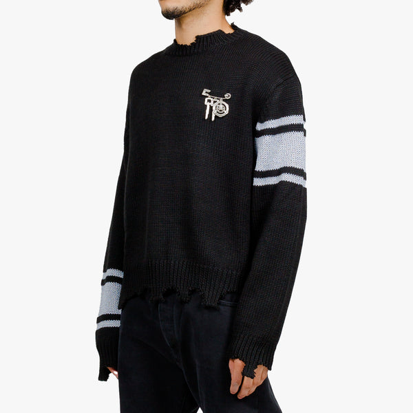 MMJ Reflective Knit Sweater