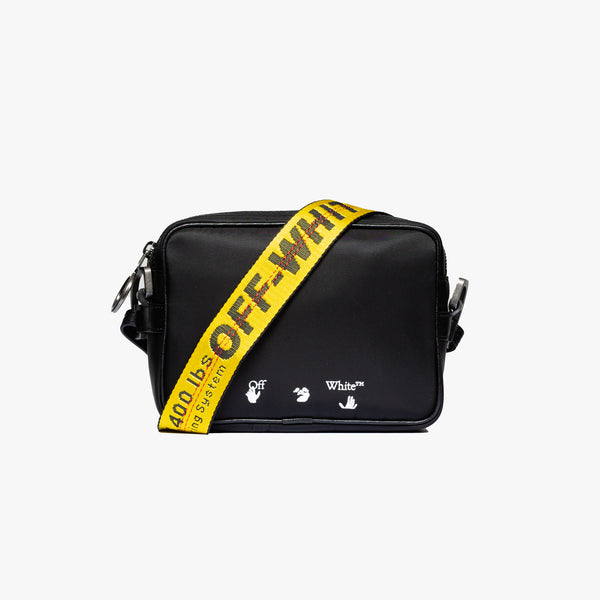 OW Logo Nylon Crossbody Bag