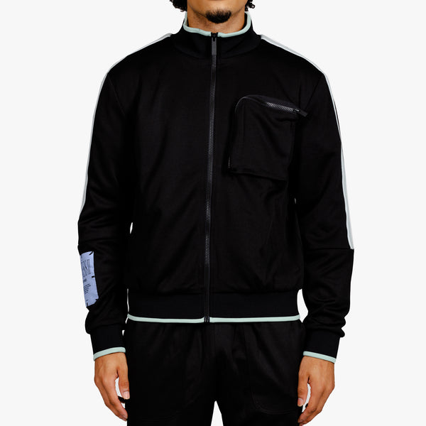 Interlock MCQ Track Jacket